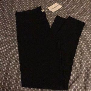Regular black leggings